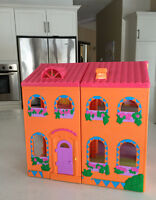 Dora Doll House and Van, both for $10