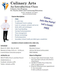Come...  Join the Party! Let's Cook! FREE at St. Charles