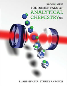 Brand new Analytical Chemistry by Skoog, 9th edition, $100
