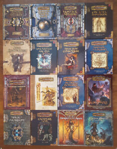 DUNGEONS & DRAGONS 3RD 3.5 EDITION HARDCOVERS