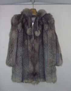 Norweigan Blue Fox Ladies' Fur Parka