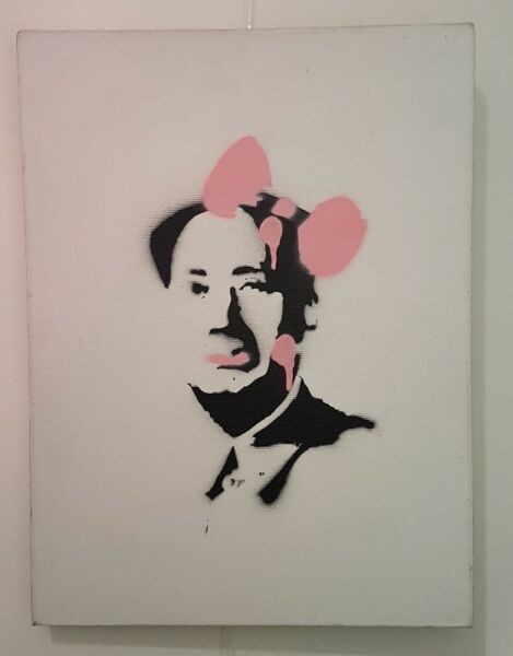 Canvas Painting- 'Mao Zedong'