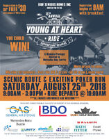 Young at Heart Motorcycle Ride