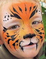 Hire a professional face painter for your party