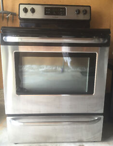 Stove and front load washer