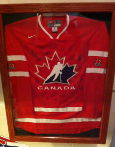 2012 Team Canada World Junior Autograph jersey COA trade/echange