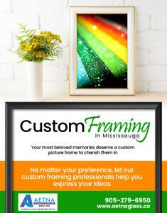 Custom Framing Mississauga