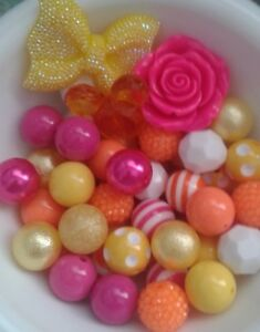 20 MM GUMBALL / BUBBLEGUM CHUNKY BEADS