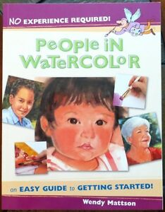 WATERCOLOR BOOKS (PEOPLE IN WATERCOLOR ) $10.00