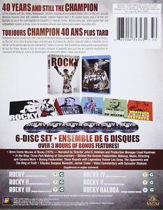 BLU-RAY! ROCKY BOX SET 6 MOVIES