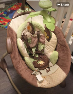 Cozy coo lion king baby swing