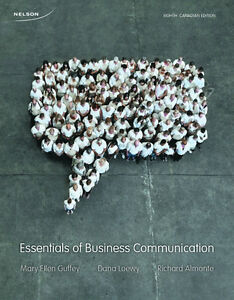 Essentials of Business Communication - Eighth Canadian Edition