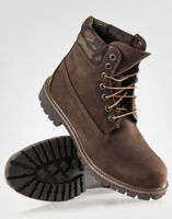 New Limited Edition Men's TIMBERLAND Brown/Camo Boots Size 11
