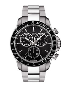 TISSOT Chronograph V8 Stainless Steel Watch