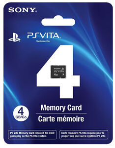 Carte mémoire PS Vita 4Gb