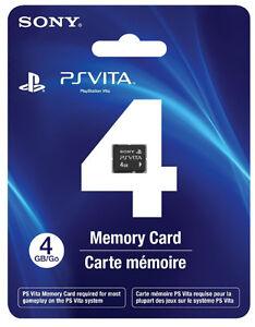 Carte mémoire PS Vita 4Gb