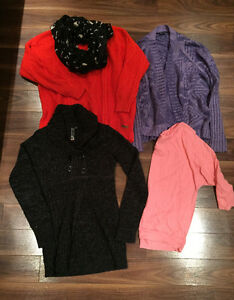 Women clothing lot (tops and sweaters)