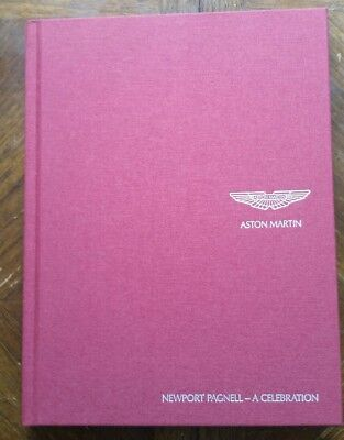 ASTON MARTIN NEWPORT PAGNELL UNOPENED CELEBRATION BOOK DVD BAG + CATALOGUE