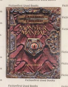 """Roleplay Manual: """"D&D 3rd Monster Manual"""""""