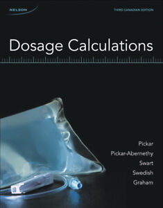 Dosage Calculations 3rd Canadian Edition