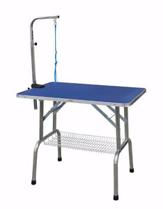 Portable ring side grooming table
