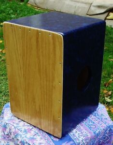 Cajon: 3n1 cajon 3 playing surfaces Tunable snare n tribal sides Cambridge Kitchener Area image 6