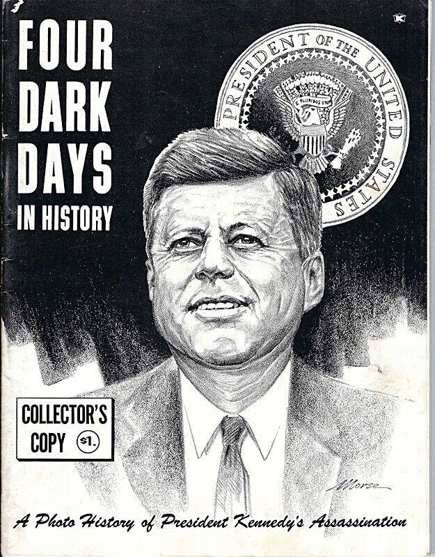 John F Kennedy Assassination Four Dark Days in History Booklet 1963