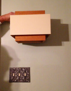 Mid Century Modern style Wall Lights -Check out ALL the photos!!