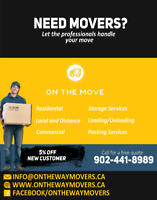 Free Estimate - Long Distance - Local Moves- NS《==》ON
