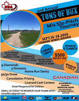 Baseball Tournament - Tons of Bux - Airdrie