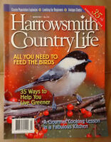 Back issues of Harrowsmith Country Living magazine