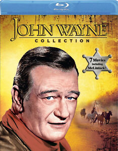 John Wayne Collection Blu-Ray-7 movies on 1 disc + bonus dvd