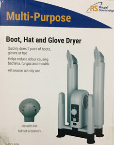 Royal Sovereign Forced Air Boot Hat Glove Dryer (HBD-100) / NEW