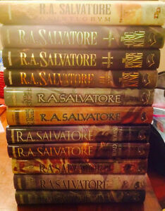 R.A. Salvatore hardcover books for sale