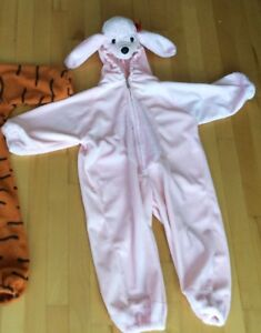 costume d'halloween caniche rose 2 - 3 ans