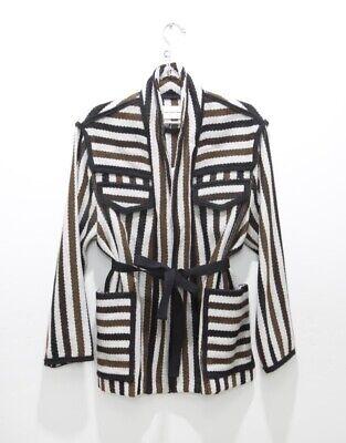 Isabel Marant Wool Striped Breeda Jacket Coat EU38/10 Excellent Condition