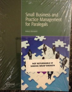 Small Business and Practice Management for Paralegals