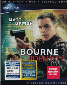 Jason Bourne Blu-ray Collection (crisp clean like brand new)