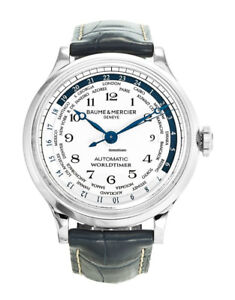 HOLIDAY GIFT!! Baume & Mercier Capeland Worldtimer Men's Watch