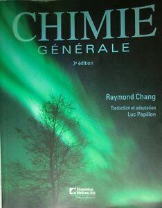 Chimie Général 3 Edition Raymond Chang