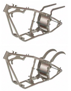 harley rigid frame brand new kraft tech