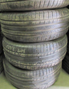 18 inch tires —4 of them—245-50-18(70 PERCENT TREAD) They are Pi