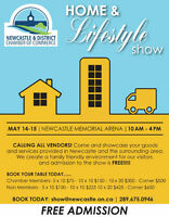 Vendors Wanted Newcastle Home & Lifestyle Show May 14 & 15th