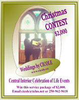Christmas Wedding Contest from CICOLE