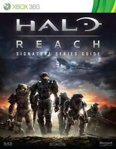 BRAND NEW! HALO REACH XBOX 360 SIGNATURE SERIES STRATEGY GUIDE