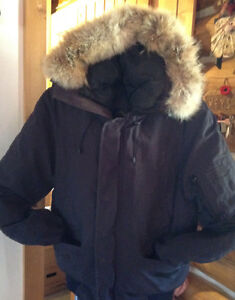 Goose down winter coat