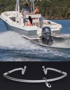 TurboSwing Outboard motor tow bar.