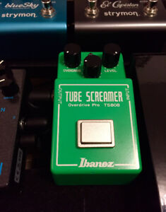 Pedale Overdrive Pro Ibanez TS808