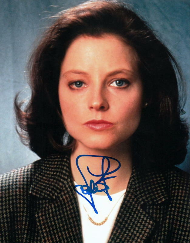 JODIE FOSTER.. The Silence of the Lambs' Clarice Sterling - SIGNED