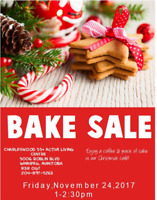 Charleswood Holiday Bake Sale